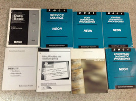2001 Dodge Neon Shop Service Repair Manual Set W Diagnostics +Training Books Oem - $98.99
