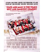 2000 STATE AND MAIN Movie POSTER 27x40 Motion Picture Promo William H Macy - $29.99