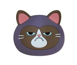 Set of 5 Creative Cartoon Cat Silicone Coasters Insulation Placemats - £10.88 GBP