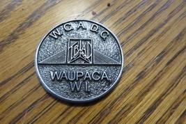 W.C.A.D.C. Waupaca Wi.Religious Medal Award Token Medallian Collectible - $14.25