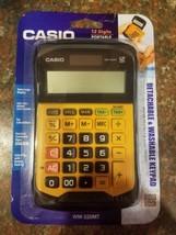 Casio 12 Digit Desktop Calculator with Detachable Washable Keypad Garage... - €21,62 EUR