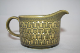 Vintage Wedgwood Cambrian Green Creamer  Made in England Retro Oven to Table image 2