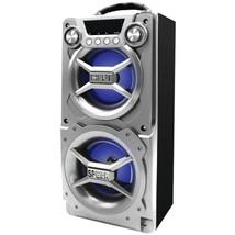 SYLVANIA SP328-SILVER Bluetooth Speaker with Speakerphone (Silver) - $55.16