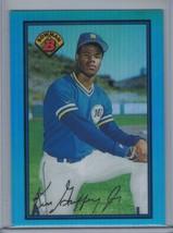 KEN GRIFFEY Jr. 2013 Bowman Rookie Reprint Blue Sapphire Refractor #220 ... - $1.35