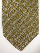 GORGEOUS  Robert Talbott Green-Gold With Silver Ropes Hand Made Silk Tie USA - $29.99