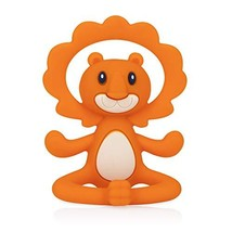 Nuby Yogis All Silicone Soothing Teether, Lion (Lion) - $13.72