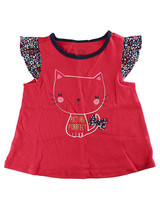 """First Impressions Baby Girls """"Picture Purrfect"""" Cat T-Shirt, 6-9 Months - $9.00"""