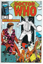 Doctor Who #13 Vol 1 1985 Marvel Comics (VF+) - $3.99