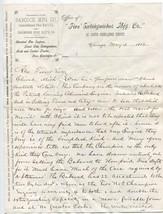 1882 Handwritten Letter on Illustrated Fire Engine Letterhead - $13.86