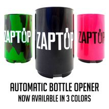 Coolest Automatic Beer Bottle Opener with Magnetic Cap Catcher Push Dow... - $14.95