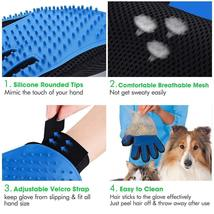 Pair of Original Pet Grooming Glove Gentle Deshedding Brush Glove Dogs,Cats, etc image 3