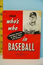 1960 Who's Who in Baseball by Baseball Magazine Co. Don Drysdale Cover - $23.76