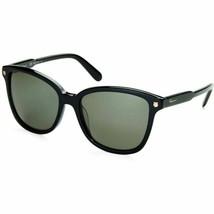 Salvatore Ferragamo SF815S 001 Gafas de Sol Negras 56mm Auténtico - $87.21