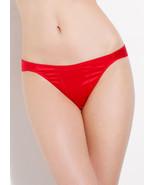 L'AGENT By AGENT PROVOCATEUR Danita Brief Red Stretch Satin Size XL BNWT - $36.16