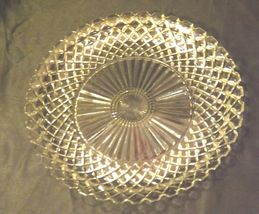 Waterford large etched glass Serving Platters USA Pair AA19-LD11930 Vintage image 8