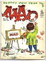 MAD Magazine #76 January 1963 Vol I Painter Vintage Comics Parody Advert... - $29.99