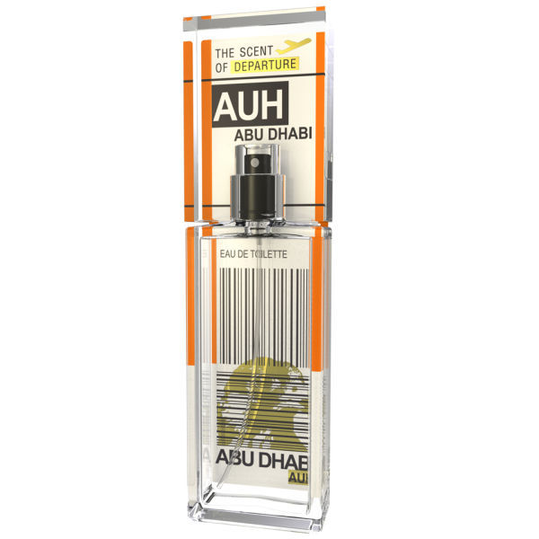 ABU DHABI by SCENT of DEPARTURE Perfume 5ml Travel Spray AUH CASTOREUM BENZOIN