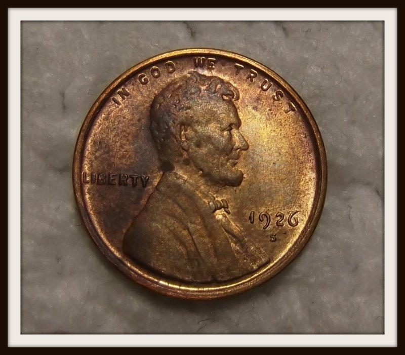 1926-S 1C Lincoln Wheat Cent (Copy)