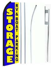 Storage RV Boat Parking Standard Economic Size Swooper Flag Sign Complete Set   - $62.99