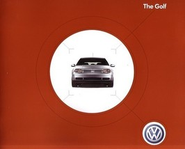 2003 Volkswagen GOLF sales brochure catalog 03 VW GL GLS TDI - $9.00