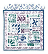 Let's Quilt cross stitch chart Imaginating - $6.30