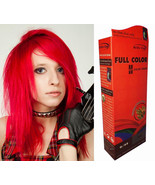 PREMIUM Master Color Hair COLOR Permanent Hair Cream Dye Punk Rock Glam ... - $6.05