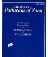 The Best of Pathways of Song Low Voice Vocal Solos - $12.95