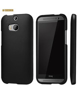 Protex Rubberized Hard Skin Case Cover for HTC One M8 in Black and White - $7.95