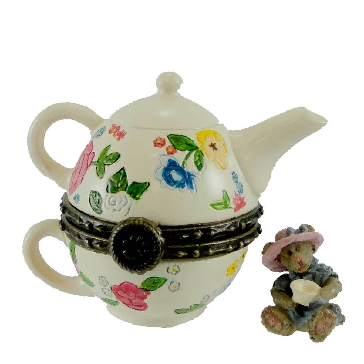 "Primary image for Boyds Treasure Box ""GRANNY MAE'S TEAPOT"" #4015204- 1E- NIB 2009"