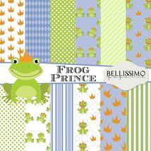"Frog Prince Paper Pack: Scrapbook Paper,12""x12""... - $3.50"