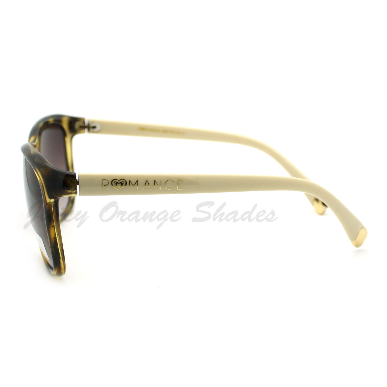 Classic Designer Fashion Womens Sunglasses Metal Heart Tip