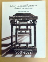 Sotheby's Ming Imperial Furniture The Biegucang Collectio  Hong Kong 8 .... - $65.00