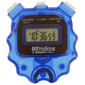 Go Walking Digital Stopwatch Sportimer with Whistle (Colors Vary)