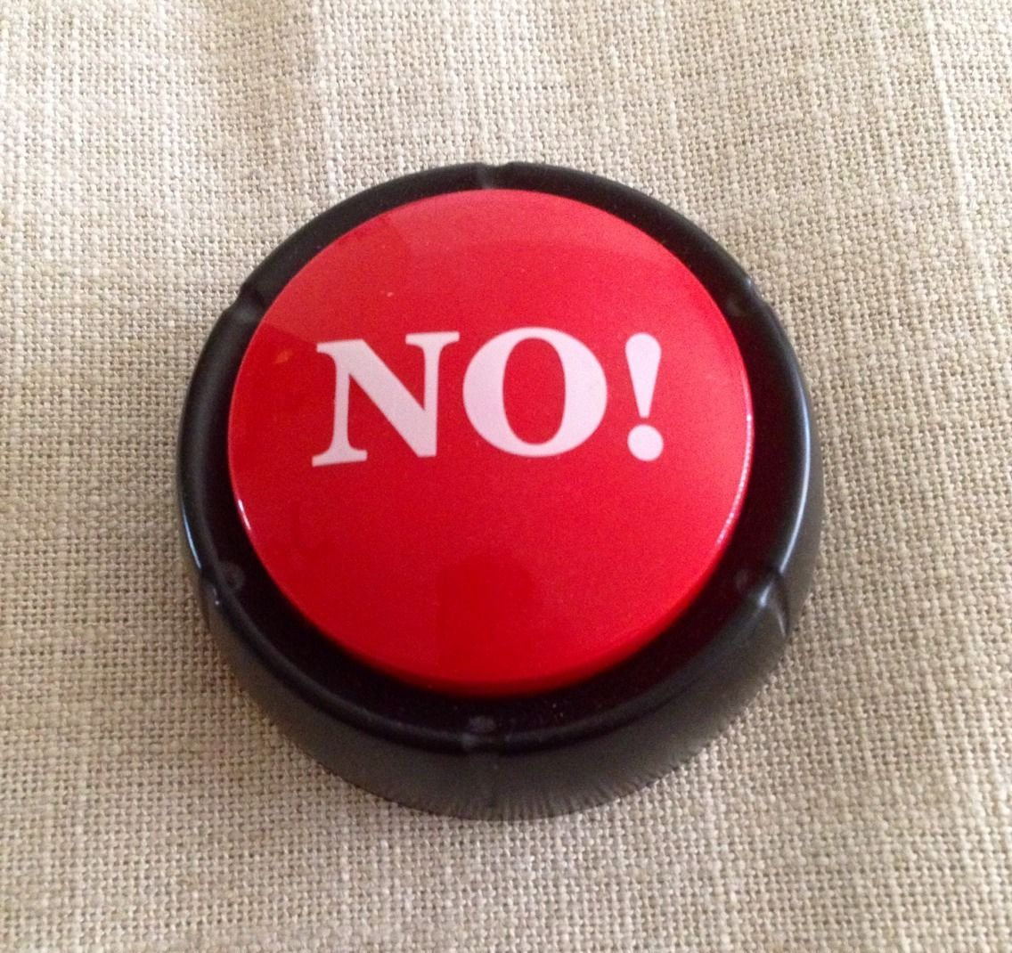 'NO' Button