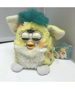 1999 Vintage Electronic Furby Babies Yellow Confetti Tiger Robotic Pet Toy - $179.99