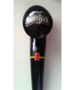 Beer Tap Amber Bock Beer Tap Handle Black Laquer Curled Beer Pull Handle - $29.99