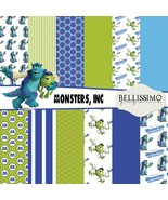 "Monsters, Inc Paper Pack: Scrapbook Paper,12""x12"", Digital Paper, 12 Papers - $2.80"