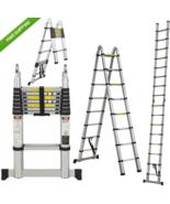 16.5 ft Aluminum Telescopic Telescoping Collapsible Ladder Extension - $171.99