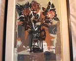 "Framed, Matted Signed Guy Maccoy Serigraph ""Flowers Two"" - €834,02 EUR"