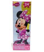 Disney Jr. Minnie MouseTower Puzzle 24 Pieces Ages  3+ New - $6.98