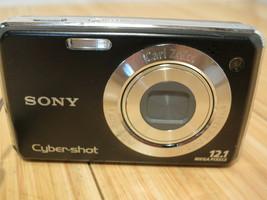 Sony Cyber-shot DSC-W230 12.1MP 4x Zoom Carl Zeiss Black Digital (Camera Only) - $18.52