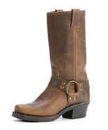 Tan Leather Tall Riding Boots high quality Leather Handmade custom ridin... - $189.99+