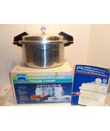 Vintage Mirro Automatic 12 Quart Steam Pressure... - $117.59