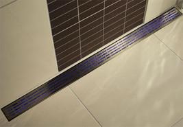 Quartz Linear Drain Mix 48 Plain Edge - Stainless Steel - $864.00