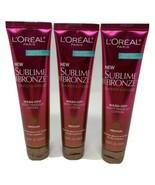 3 L'OREAL Paris Sublime Bronze Summer Express Wash-Off Body Makeup Lotio... - $16.83