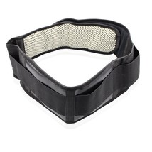 Adjustable Waist Tourmaline Self Heating Band Magnetic Therapy Back Support Belt - $8.69