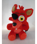 "Five Nights At Freddys 8"" + ears Foxy Plush Red Pirate Stuffed Tag wrinkled - $10.39"