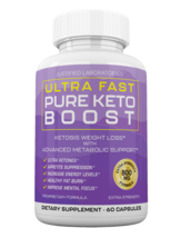 Ultra Fast Pure Keto Boost Weight Loss Diet Pills Ketogenic Supplement BHB - $46.99