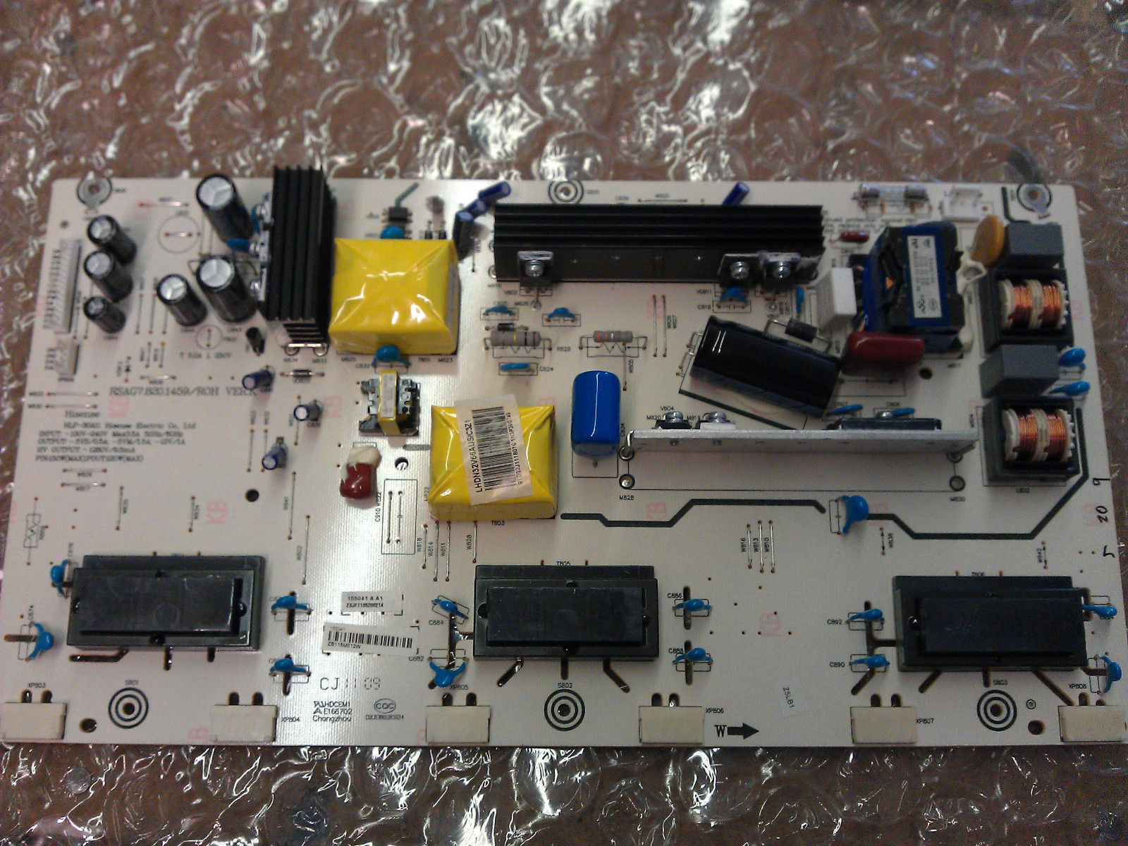 155041  HLP-30A11 Power Supply PCB From Hisense LHDN32V66AUS LCD TV