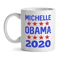 Michelle Obama 2020 - Mad Over Mugs - Inspirational Unique Popular Office Tea Co - $20.53